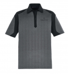 Men's North End Merge Cotton Blend Polo – Black/Grey