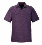 Men's North End Barcode Performance Polo – Mulberry