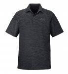 Men's North End Barcode Performance Polo - Carbon