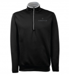 Men's Antigua Leader Pullover – Black/Silver