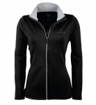Ladies Antigua Leader Jacket – Black/Silver