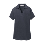 Women's Port Authority Dark Grey Polo